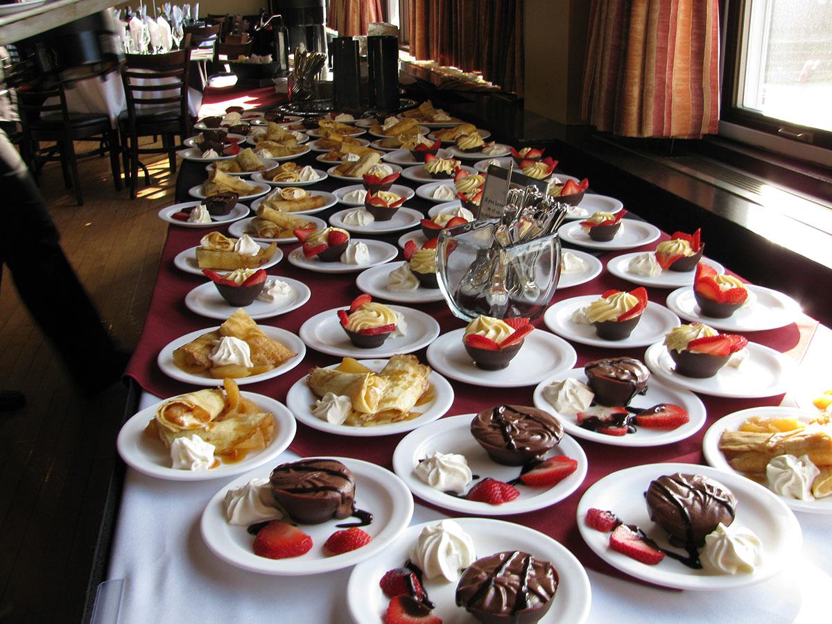 Banquet desserts - Annapolis Basin Conference Centre