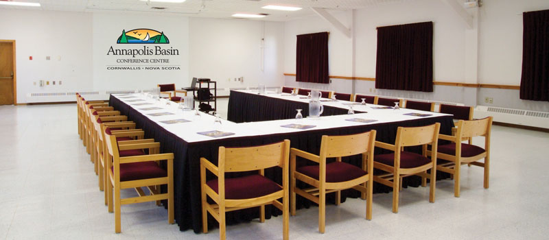 Meeting Room Annapolis Basin Conference Centre